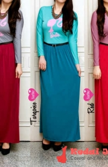 SIMPLY BARBIE DRESS HIJABERS
